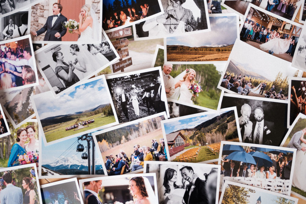 photos of colorado mountain weddings